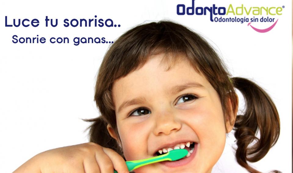 Higiene y uso de pasta dental en niños